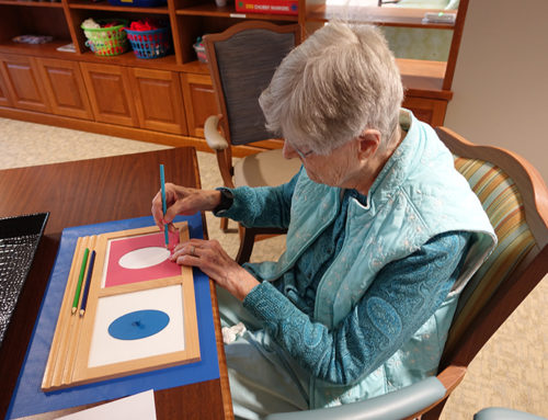 How to Use Montessori Materials with Older Adults